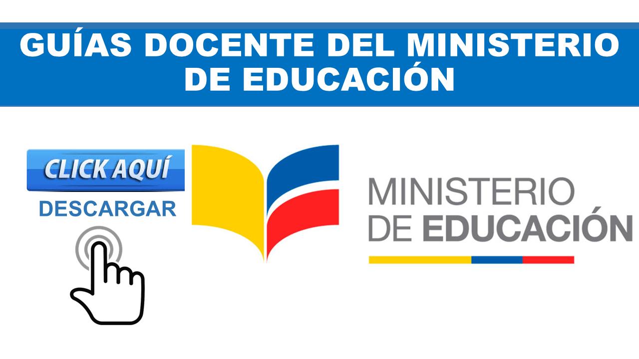 Guías Docente del Ministerio de Educación