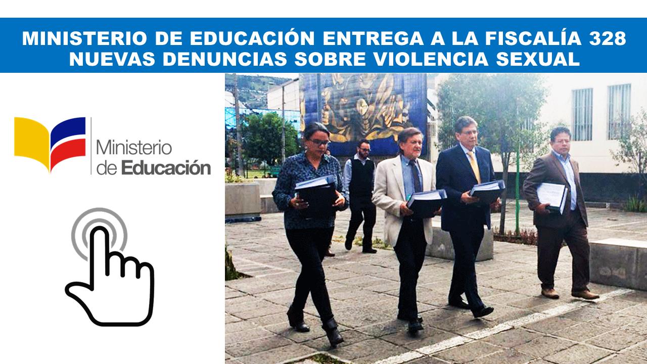 MINISTERIO DE EDUCACIÓN ENTREGA A LA FISCALÍA 328
