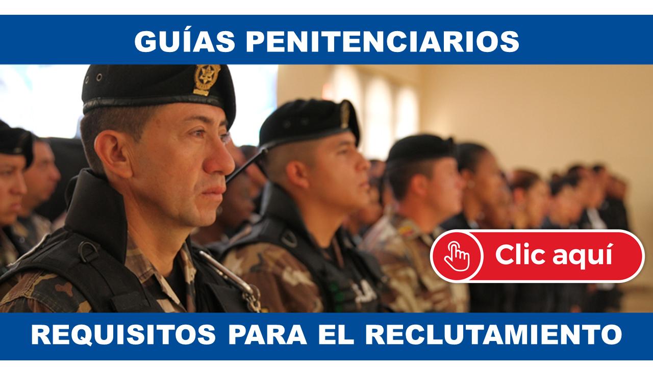 Inscripción para Guías Penitenciarios Ecuador