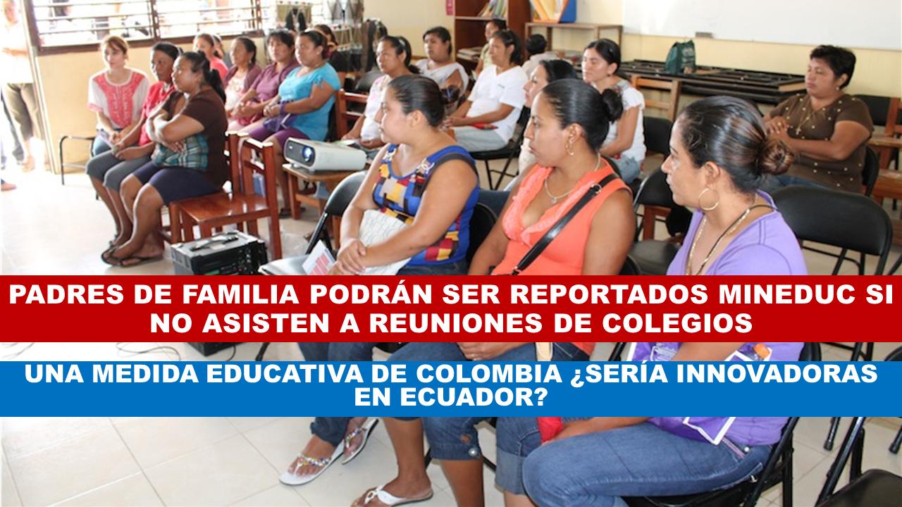 Medidas Educativas de Colombia ¿Serían innovadoras en Ecuador?